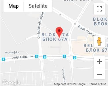 Lokacija na mapi